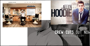 Hoodie Allen can be notice with his new album Crew Cut. Artwork by Ryan Woods.